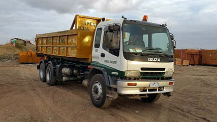 Bin Hire Truck in Melton